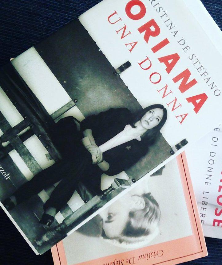 Oriana Fallaci Cristina De Stefano libri storie di donne Donna Energia blog