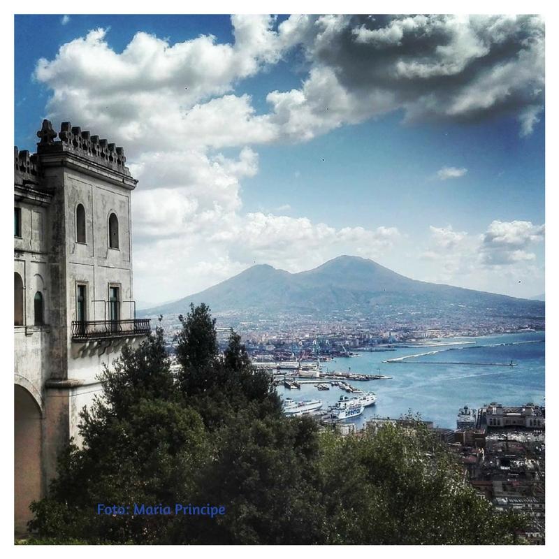Napoli San Martino panorama foto Maria Principe Donna Energia