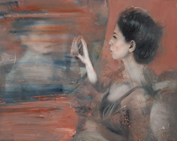 donna+allo+specchio+-+olio+su+tela+-+60x75+cm.+-+2015 bellezza gibran donna energia